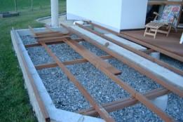 Holz Unterkonstruktion