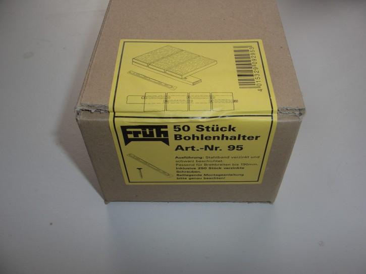 Früh Bohlenhalter Nr. 95S  A-Ware, für 140-190mm Dielen