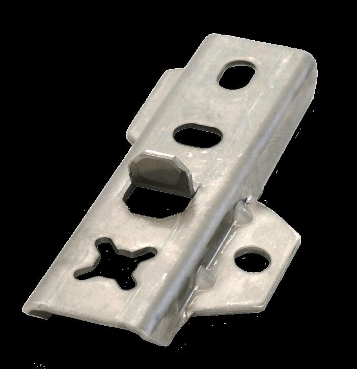 DILA 2 / 17 Edelstahl 200 Stk. Terrassenverbinder-Set