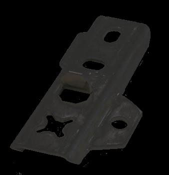 DILA 2 / 22 Edelstahl schwarz 400 Stück / VPE Universal Terrassenverbinder - Set