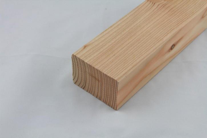 Sibirsche Lärche Kantholz gehobelt, Kanten gefast 45 x 70mm , nisi.