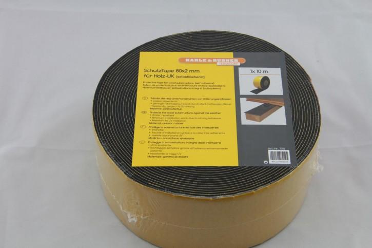 SchutzTape 10m Rolle 80mm breit für die Unterkonstruktion