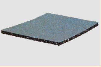 Isopad mit Beschichtung für Terrassenlager 8x192x192mm 10Stk/VPE