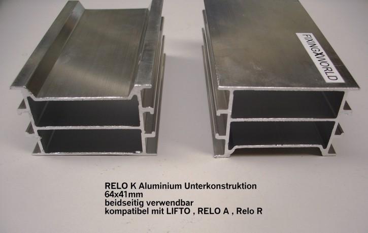 RELO K  2200x64x41mm Aluschiene für Terrasse