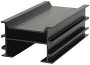 RELO P Alu- Unterkonstruktionschiene 4000x64x41mm, schwarz