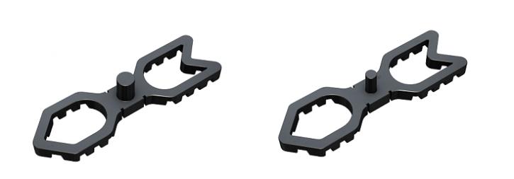 Terrafix Abstandshalter 4mm oder 7mm Fugenabstand