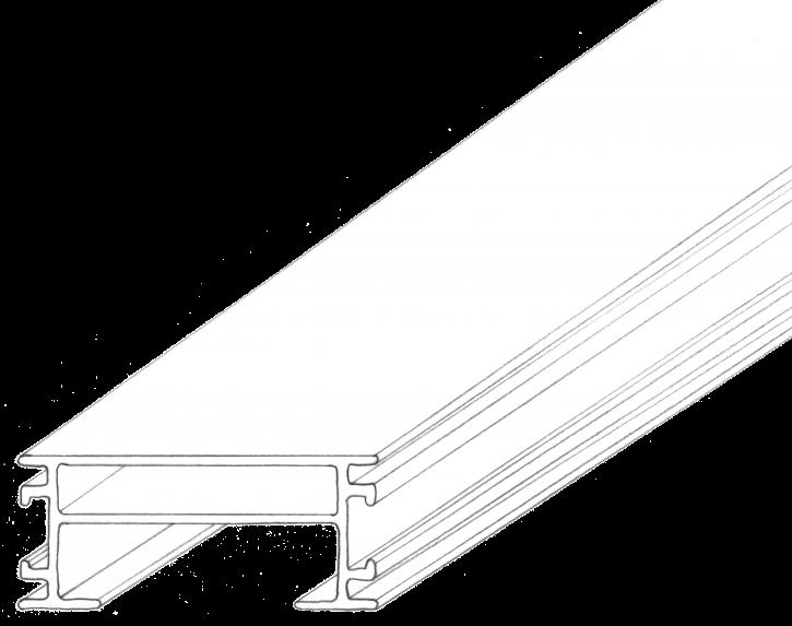 RELO U Aluminium - Unterkonstruktion 2200x64x28mm