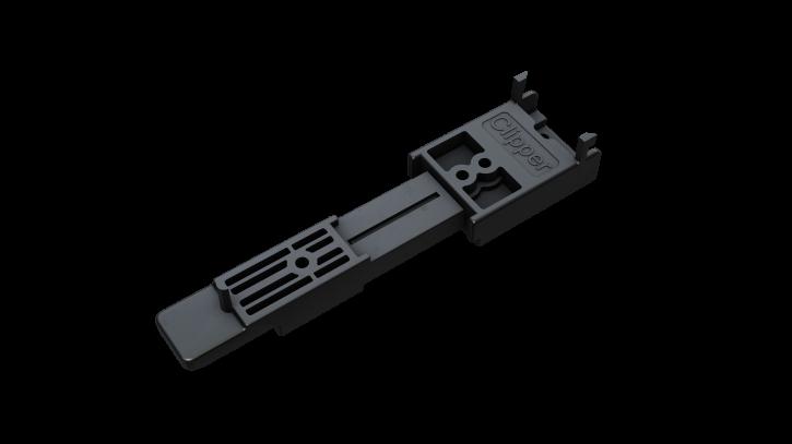 Clipper Dielenbreite 90 - 120mm für Aluminium Unterkonstruktion 20-24mm