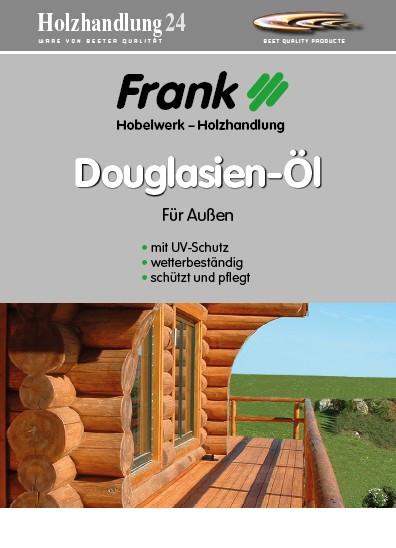 Douglasienöl 2.5 Liter Holz-Frank