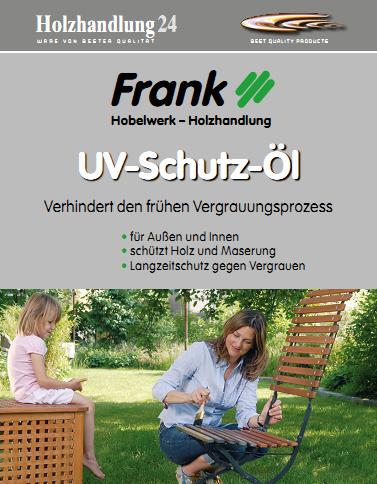 UV-Schutz-ÖL 2.5 Liter von Holz-Frank