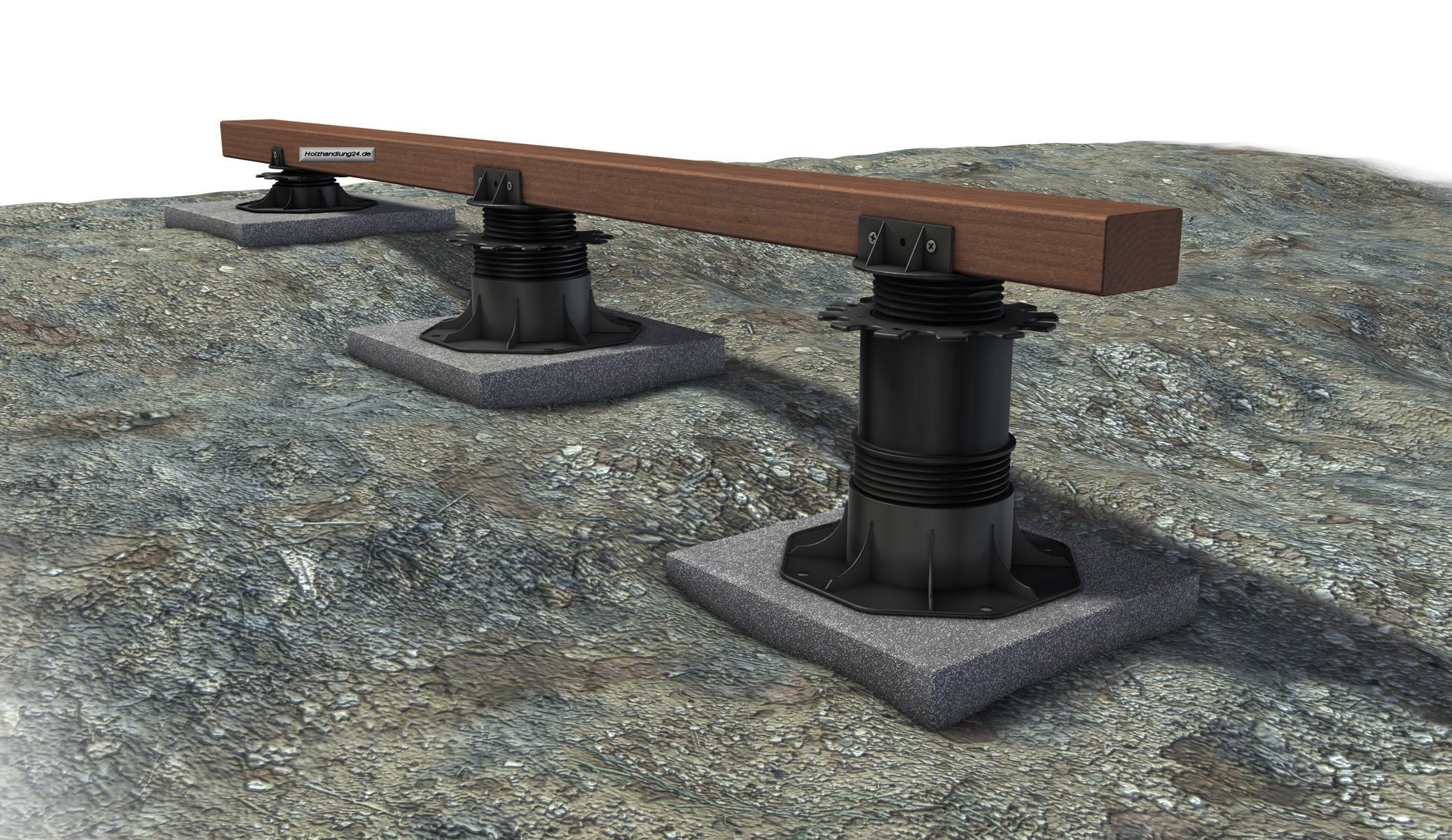 K R Terracon Terrassenlager Stellfuss Verstellbar 35 70 Mm