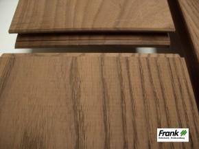 Thermoesche Terrassendiele D31 – glatt – 20×132 mm 2.10m