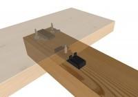 SIHGA GleitFix AE Edelstahl rostfrei / 17mm Schrauben für 19 - 23mm Dielenstärke